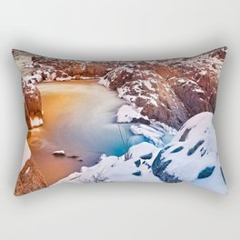 Great Fantasy Falls Rectangular Pillow