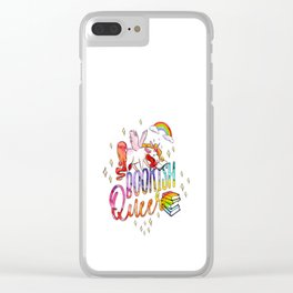 Bookish Queer Clear iPhone Case