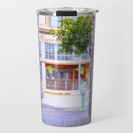 Emergency Exit Bubblegum Alley San Luis Obispo Travel Mug