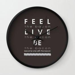 Feel Bacon Wall Clock