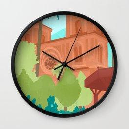 Travel to Ecuador Wall Clock