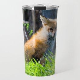 I Am the Fox. Who Are You? Travel Mug