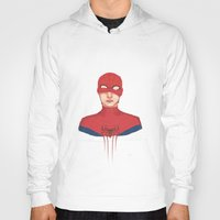 spider man Hoodies featuring Spider-man by parkers