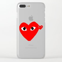 Comme Des Garcons Clear iPhone Case