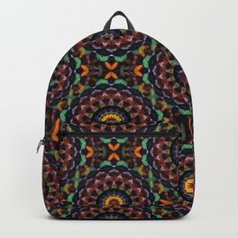 Leaves Kaleidoscope Backpack
