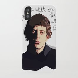 Lou Reed - Walk on the Wild Side iPhone Case
