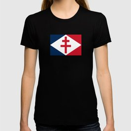 Naval Ensign of Free France  T-shirt