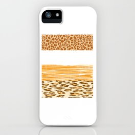 Looking for a Unique T-shirt Design Of A Wild Life? Here's An Amazing T-shirt Tiger Zebra Lion iPhone Case