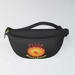 pizza and sunshine Fanny Pack
