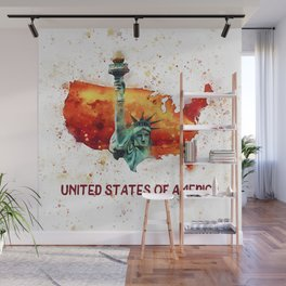 The Statue of Liberty - U.S.A. Wall Mural