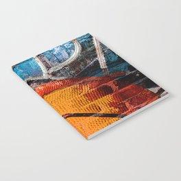 Basketball art swoosh vs 14 Notebook