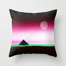 Communicating -Two way traffic Throw Pillow