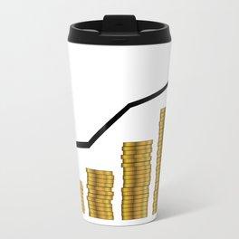 Rising Prices Travel Mug