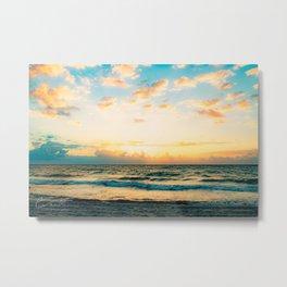 Cloudy Morning In The Sunshine State (III) Metal Print