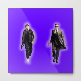 Eggsy and Harry Metal Print