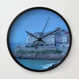 Paseo Marítimo de La Coruña Wall Clock