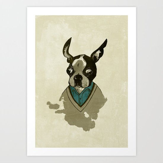 perfect gentleman Art Print