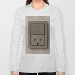 Smiling Power Outlet Long Sleeve T-shirt