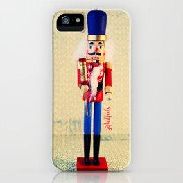nutcracker says hello  iPhone Case