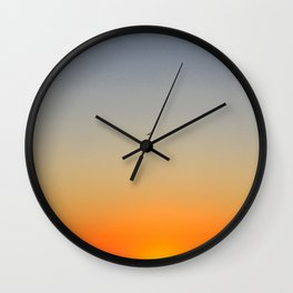 Nature's Color Palette Wall Clock
