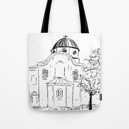 Church St Nikola, Varna Tote Bag