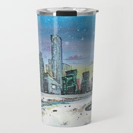 Astana and Winter Travel Mug
