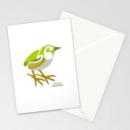 Rock Wren New Zealand Bird Stationery Cards