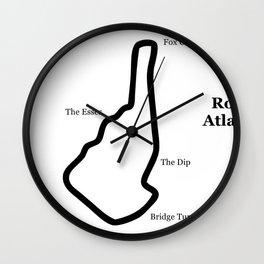 RennSport Shrine Series: Road Atlanta Edition Wall Clock