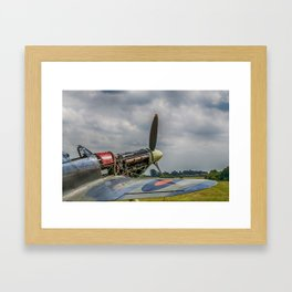 Covers Off Hawker Hurricane Framed Art Print