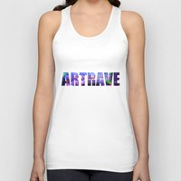 artrave Tank Tops featuring artRAVE Venus by ARTPOPdesigns