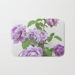 winter rose . image Bath Mat