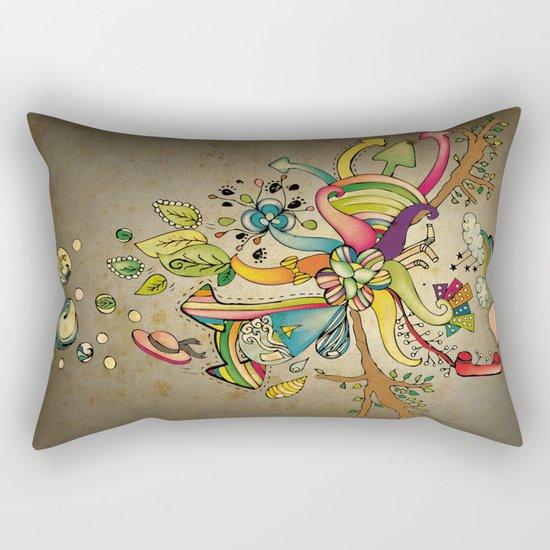 Another Strange World Rectangular Pillow
