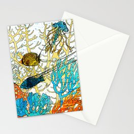 Coral reef Vadoo2 Stationery Cards