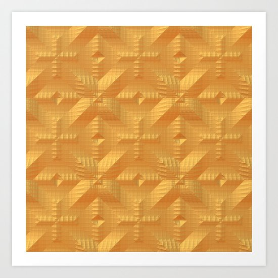 Orange One Art Print