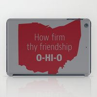 ohio iPad Cases featuring OHIO by Amanda Pavlich