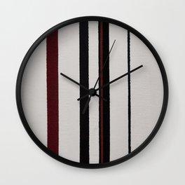 Abstract #5 Wall Clock