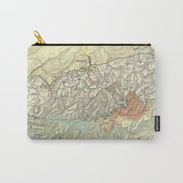 The Great Smoky Mountains National Park Map (1997) Carry-All Pouch