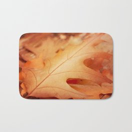 AFE Autumn Leaves, Nature Photography Bath Mat