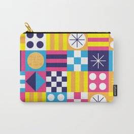 Midcentury Summertime Quilt Carry-All Pouch