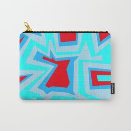 Ice Banded Red - Coral Reef Series Carry-All Pouch