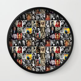Feminist Tile Wall Clock