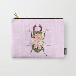 FLORAL BEETLE Carry-All Pouch