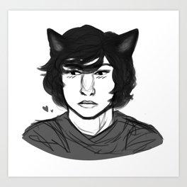 catboy Art Print
