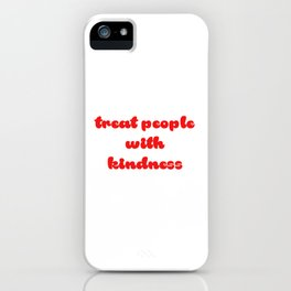 red tpwk iPhone Case