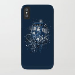 Breaking the Time iPhone Case
