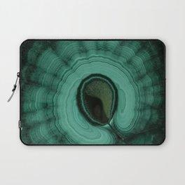 Malachite detailed pattern Laptop Sleeve