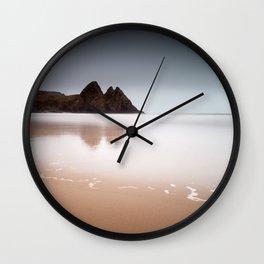 Three Cliffs Bay Gower Wall Clock