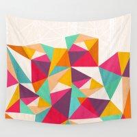 diamond Wall Tapestries featuring Diamond by Kakel