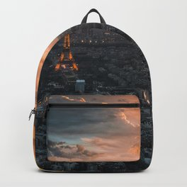 Sunset in the city of love Backpack