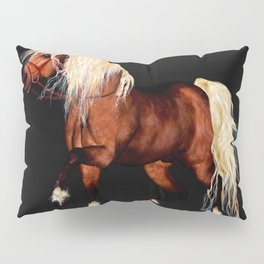HORSE - Black Forest Pillow Sham